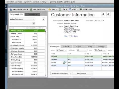 How To Get Customer Information From One QuickBooks File Into A New File