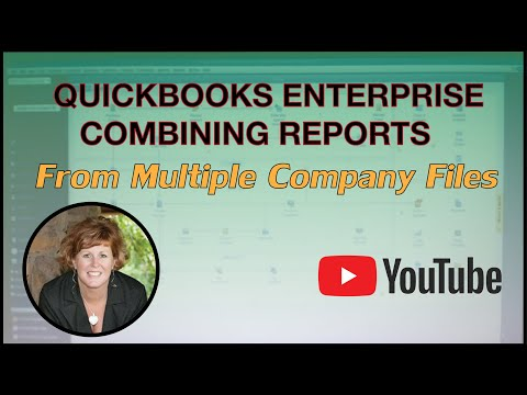 RPPC Inc – QuickBooks Enterprise Combining Reports from Multiple Company Files